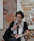 Esther Tellerman en 2014 à la galerie des Editions Unes