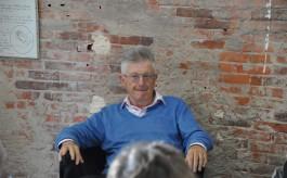 Daniel Biga en 2014 à la galerie des Editions Unes.